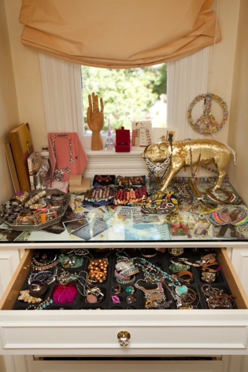 After Seeing These Images I Definitely Need A New System In My Jewelry  Organization. Right Now My Necklaces Drape Over Our Antique Mirror, So If I  Want One ...