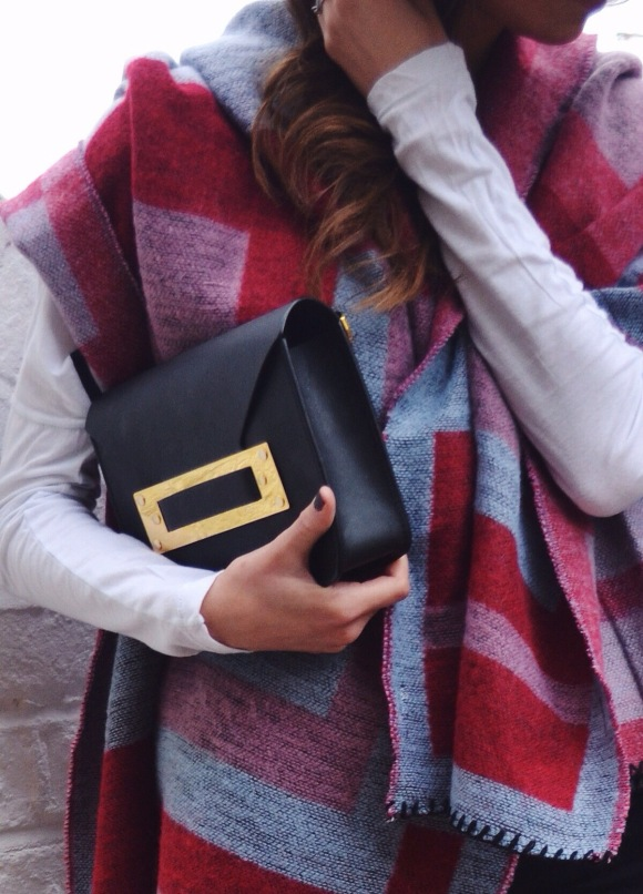 topshop blanket cape