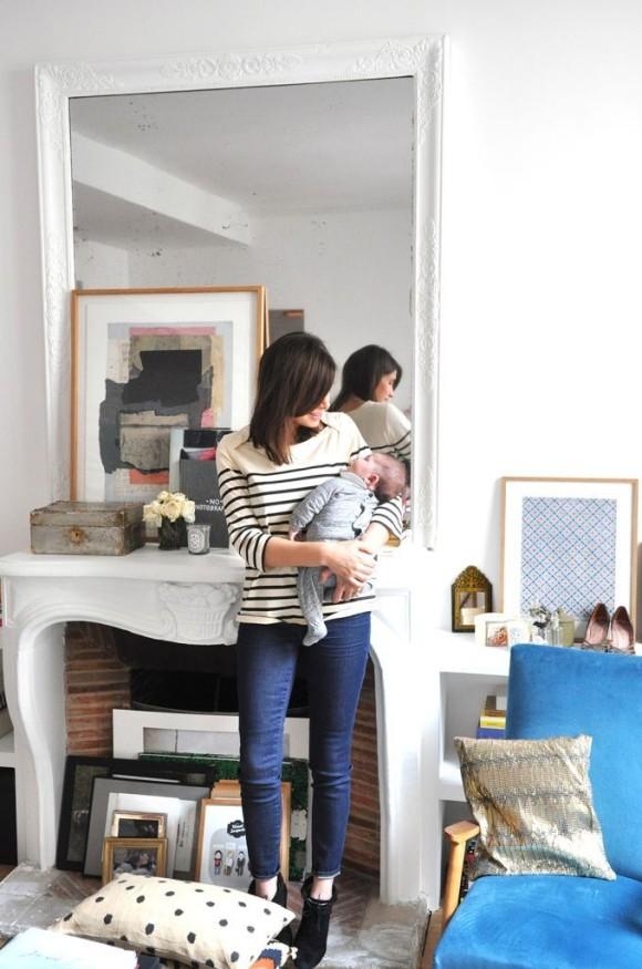 Morgane Sezalory S Parisian Apartment Natalie Merrillyn